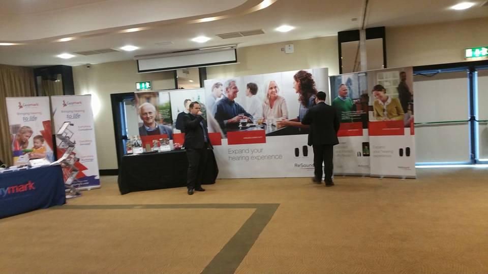 resound stand at ISHAA exhibition